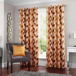 Door Curtain 118 Cm Printed Curtains, Design/Pattern: Geometric