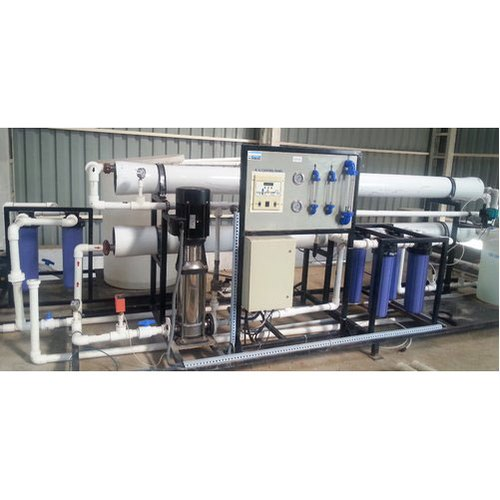 Stainless Steel Semi-Automatic Commercial Reverse Osmosis Plant