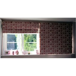 Cotton Printed Foldable Window Curtain