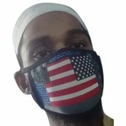 Printed Nose Anti Dust Mask