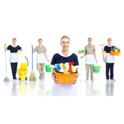 Female Commercial Housekeeping Service