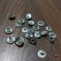 12mm Brass Spring Snap Button Nickel