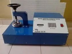 Bursting Strength Tester Digital  Model
