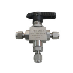 3 Way SS Ball Valve