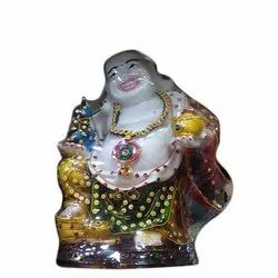 Super Marble Laughing Buddha Decorative Show Piece, Size/Dimension: 4X6 Inch