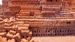 Rectangular Red Clay soil bricks, Size: 9X4X3