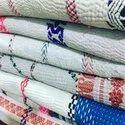 White Vintage Kantha Quilt