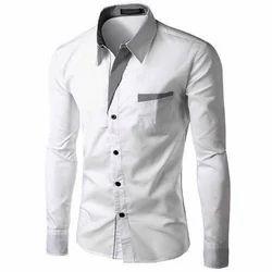 e9207280624 Cotton Linen White Men s Formal Shirt