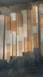 Teak & Mint Mix Stone Wall Panel