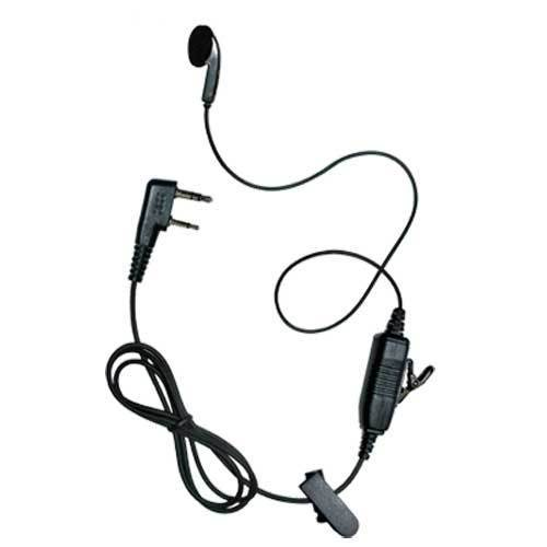 Black Tactical Headset - 2t