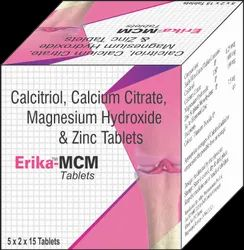 Ecomed Allopathic Erika-MCM Tablets, Packaging Type: Box