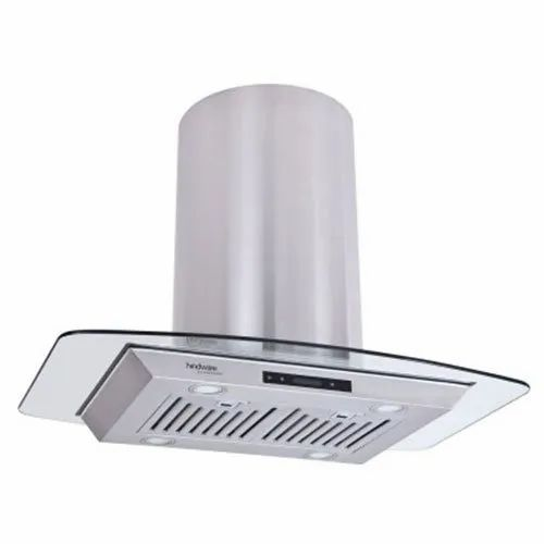 Hindware 51 cm 1100 CMH Wall and Ceiling Mounted Kitchen Chimney, (Olivia Plus 90)