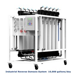 SS Industrial Reverse Osmosis System, Capacity: 10000 G/day