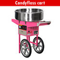 Coolex Candy Floss Cart, Capacity: 30 Sec 1 Candy