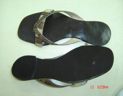 Formal Ladies Leather Slipper