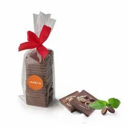 Chokola Dark Chocolate with Mint Minis -100 Grams
