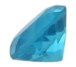 Blue Glass Topaz Gemstone
