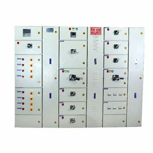 Nutech Mild Steel Three Phase Distribution Panels, IP Rating: IP44, Automatic Grade: Semi-Automatic