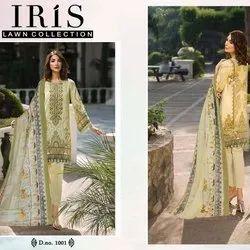 Pure Lawn Printed Dress Material