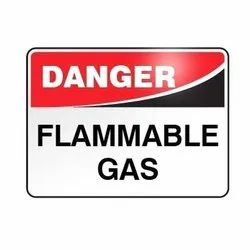 Danger Flammable Gas Safety Sign Board