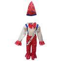 Kids Joker Multicolor Fancy Dress Costume