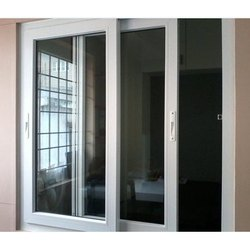 UPVC White Sliding Window