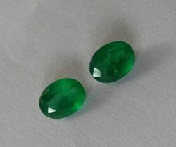 Natural Emerald Pair -3.10 Carat
