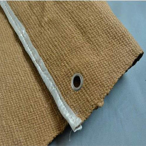 Vermiculated Insulation Ceramic Cloth For Welding Blanket