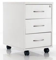 3 Drawer Wooden Pedestal for Office