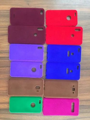 Silicon Red Blue Black Green and Many Velvet Mobile Case