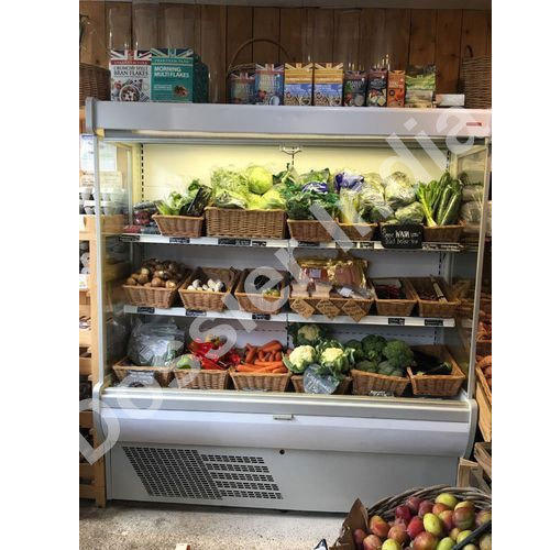Retail Display Chillers Open Chiller With Glass