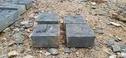 Black cobbles Stone