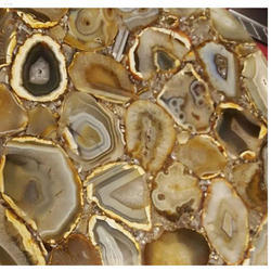Carnelian Agate Stone Slab, For Countertops, Thickness: 15 Mm