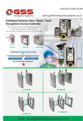 Gate Entry System With Temperature And Biometric Scanning For Restricted And Limited Access