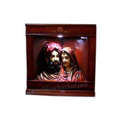 Rajasthani Royal Couple Statue