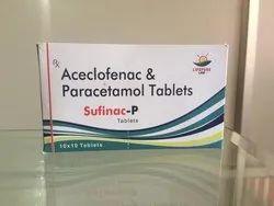 Sufinac-P Aceclofenac 100mg & Paracetamol 325mg Tablets