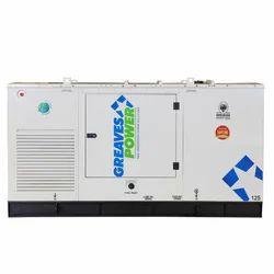 125 kVA Greaves Power Portable Diesel Generator, 3 Phase