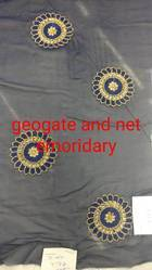 Georgette And Net Embroidery