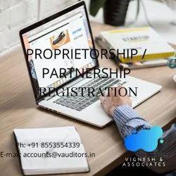 PROPRIETORSHIP / PARTNERSHIP REGISTRATION