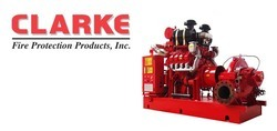 Clarke Fire, Diesel Fire Engines, Fire Protection, Fire Pump