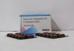 Levocetirizine HCL,Phenylephrine HCL & Paracetamol Tab