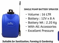 BATTERY SPRAYER -SINGLE PUMP