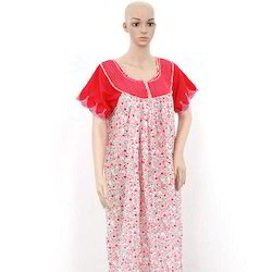 49f7f67954 Get Quote. Printed Full Length Ladies Cotton Nighty