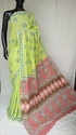 Exclusive Hand Block Printed Cotton Saree