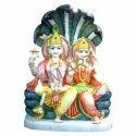 BM Art Marble Laxmi Vishnu Statues