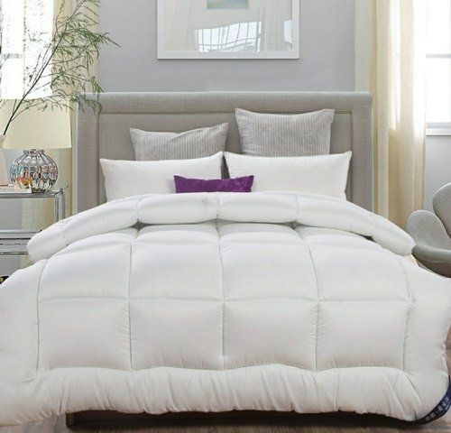 Plain White Comforter Rs 1150 Unit Agarwal Bedding Solutions Id