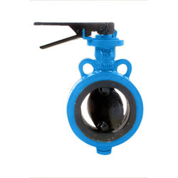 Double Flanged Centric Disc Butterfly Valve