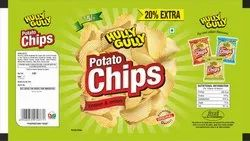 Cream & Onion Potato Chips Pouch