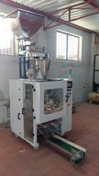 Collar Type FFS Machine For Free Flowing Powders