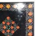 Table Top Lapis Inlay Handmade Work